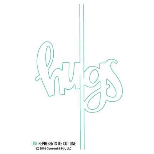 Hugs Card Die Set by Concord & 9th