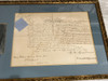 Queen Victoria Framed Signed and Sealed Document, PSA/DNA Authenticated