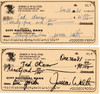 Jessica Walter Signed Check PSA/DNA Authenticated Near Mint Condition