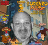 Lorenzo Music (Garfield's Voice)(Endorsed) Signed Check PSA/DNA Authenticated Near Mint Condition