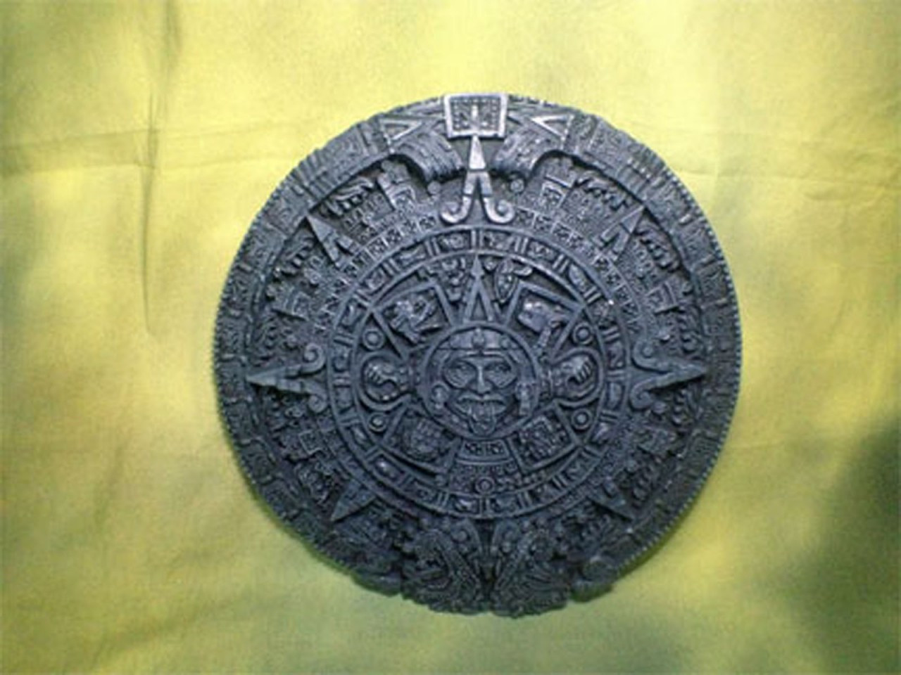 Ancient Aztec, Mayan and Inca Calender, Wall Hanging - Reel Art