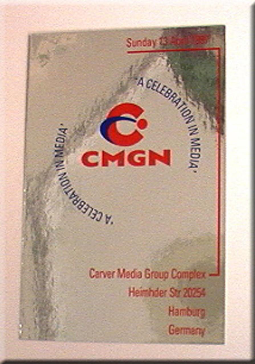 007 james bondtomorrow never dies real prop cmgn invitation card 007 james bondtomorrow never dies real prop cmgn invitation card stopboris Choice Image