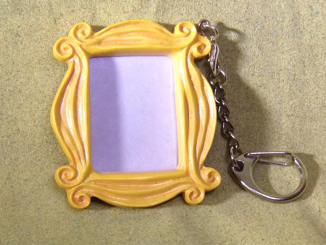 Friends Monica\u0027s Famous Peephole Door Frame Necklace and Key Chain & Friends Monica\u0027s Famous Peephole Door Frame Necklace and Key Chain ...