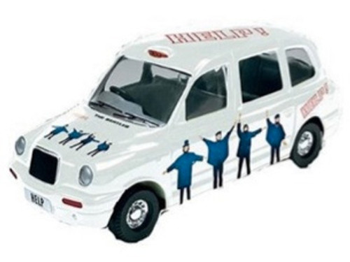 Beatles Die-Cast Help Taxi Tin, New