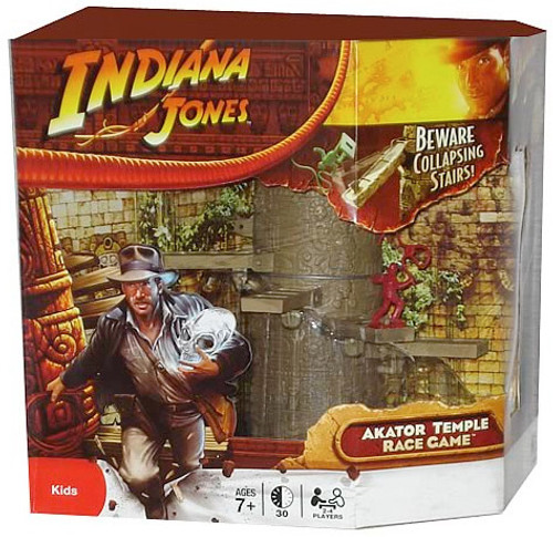 Indiana Jones Akator Temple Race Game, New Fresh from Case