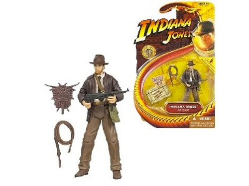 Indiana Jones With Whip & Machine Gun Action Figure