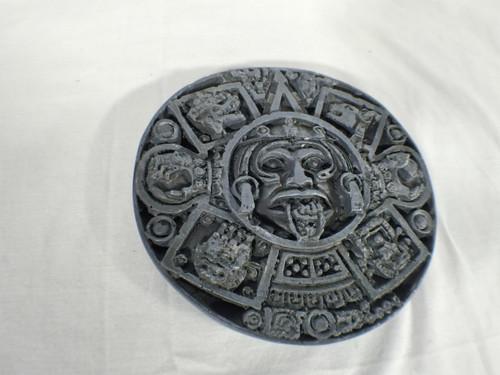 Aztec Mayan Circular Display Stand