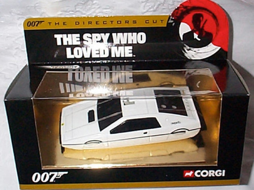 007 James Bond Lotus Esprit Underwater Car, Directors Cut, New Fresh from Case