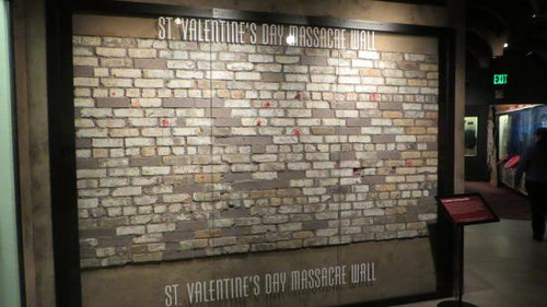 ... St. Valentines Day Massacre Wall Brick