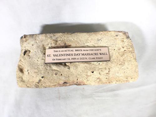 St. Valentines Day Massacre Wall Brick