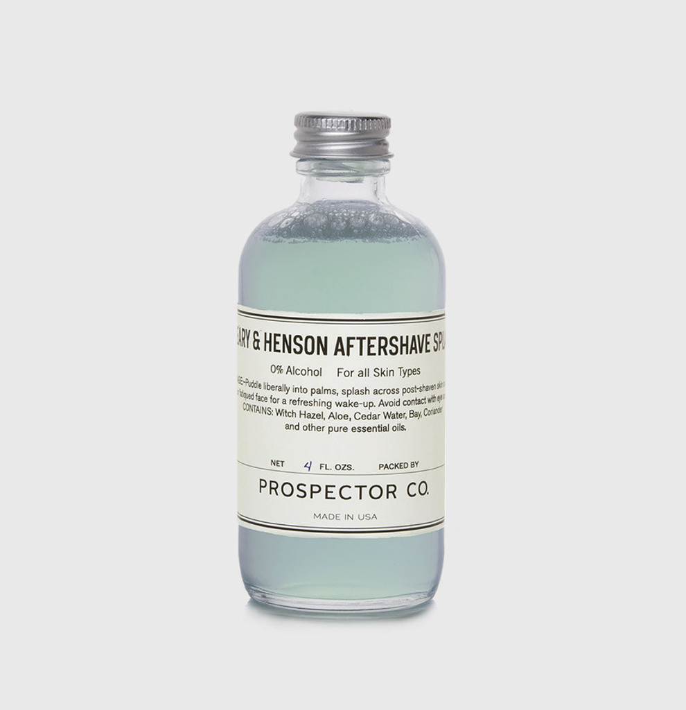 Peary & Henson Aftershave