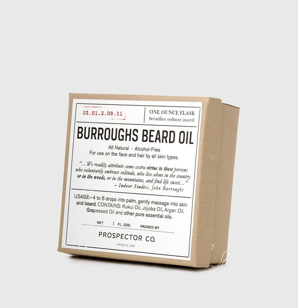 Burroughs Beard Oil
