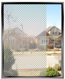 Geometric 1/8th Inch Dots - DIY Decorative Window Film