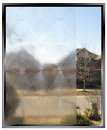 Diamonds - DIY Decorative Privacy Window Film