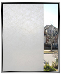FG - Fiberglass - DIY Decorative Privacy Window Film