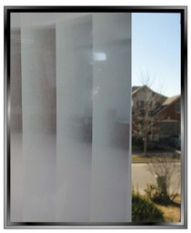 Vertical Fading Blinds - DIY Decorative Privacy Window Film
