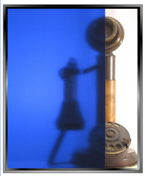 Transparent Deep Blue - DIY Decorative Window Film