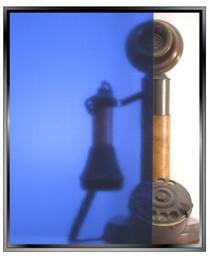 Transparent Medium Blue - DIY Decorative Window Film