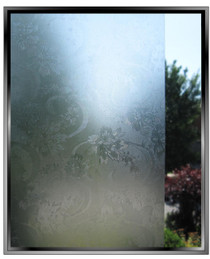 Delicate Floral - DIY Decorative Light Duty Window Film