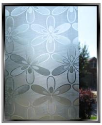 Flower Power - DIY Decorative Light Duty Window Film