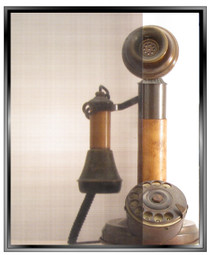 Linen -Black - DIY Decorative Window Film