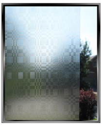 Plaid - DIY Decorative Light Duty Window Film