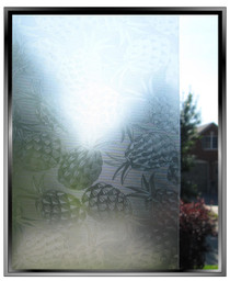 Pineapple - DIY Decorative Light Duty Window Film