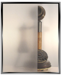 Ribbed Glass - DIY Static Cling Window Film
