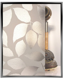 Leaf Sparkle - DIY Decorative Privacy Window Film