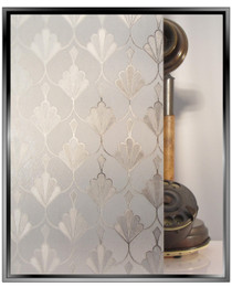Gem Tiara - DIY Decorative Privacy Window Film 1