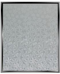 wf Flower Gradient - Wide Format - DIY Decorative Privacy Window Film
