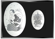 xSEASONAL: Holiday  2-Pack of Static Cling Window Decals