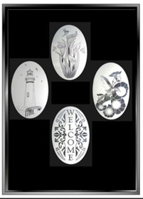xx Create Your Combo Pack - 2  Decorative Window Decals