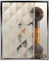 Apex Delta - White - DIY Decorative Window Film