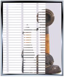 Stacks - Horizontal  DIY Decorative Window Film