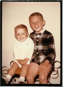 When we were cute.