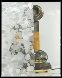 Glass Pebble - Static Cling Window Film