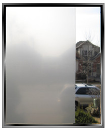 sndbl - Sheer Sand Blast - DIY Decorative Privacy Window Film