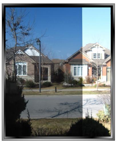 Exterior Dark Bronze 20 DIY Solar Control Window Film
