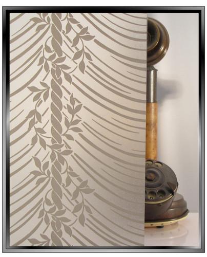 Di-Vine Drapes  - DIY Decorative Privacy Window Film