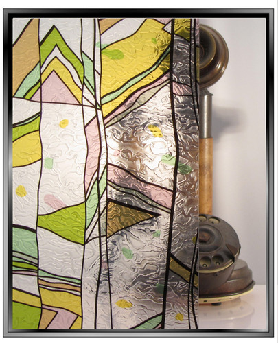 Apex Stained Glass - Pastel - DIY Decorative Privacy Window Film