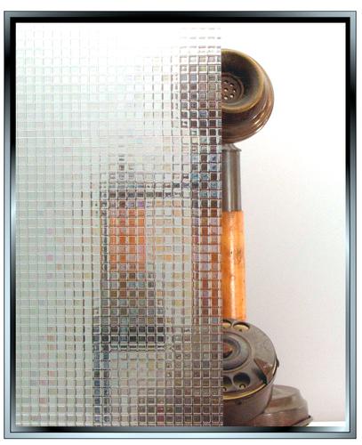 Geometric - Mosaic - Static Cling Window Film