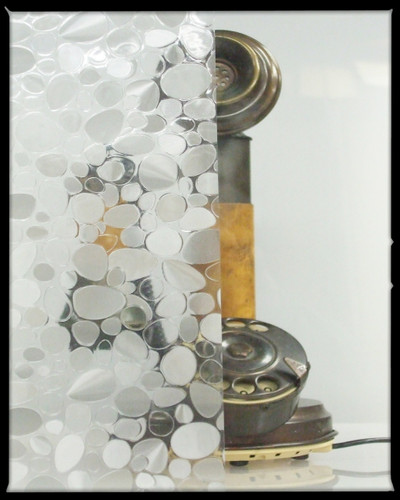 Glass Pebble - Static Cling Window Film