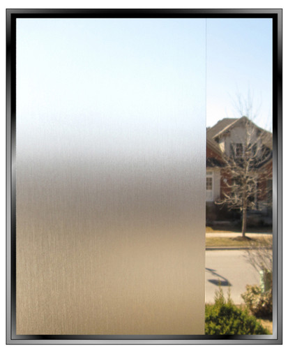 OCTKI Brushed - DIY Decorative Privacy Window Film
