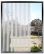 "60"" Wide Geometric 1/8th Inch Frost Stripes - DIY Decorative Film"