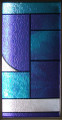 Apex Stained Glass - Abstract - DIY Decorative Privacy Window Film