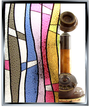 Apex Stained Glass - Jewel - DIY Static Cling Window Film