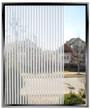 "48"" Wide Geometric 1/8th Inch Frost Stripes - DIY Decorative Film"