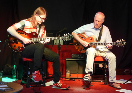James  Birkett & Bradley Johnson Jazz Guitarists  March 8th 7:70pm £10
