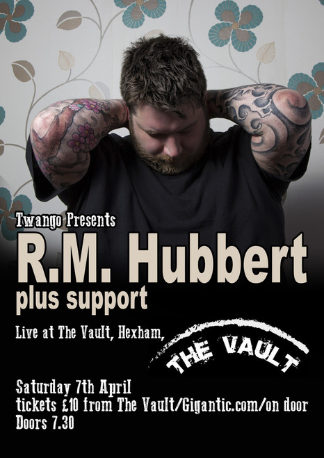 RM HUBBERT LIVE AT THE VAULT 7th April 2018